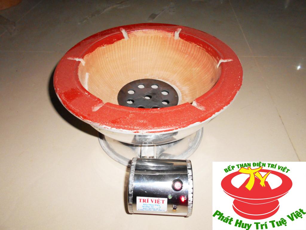 Bếp than điện thông thường tiết kiệm than Trí Việt