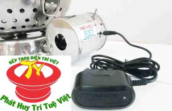 Hệ thống sạc thông minh của bếp than điện không khói